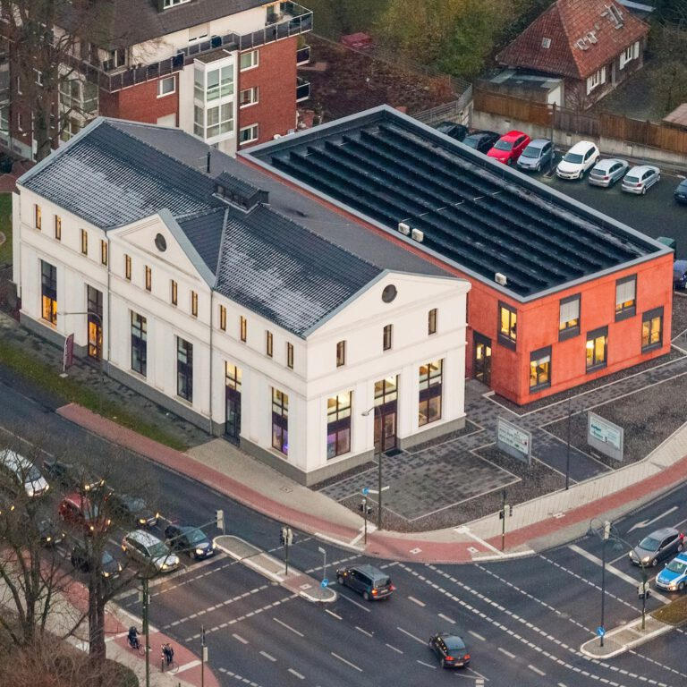 Office building Feldhaus Hamm from above