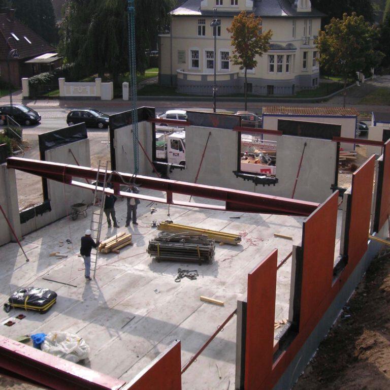 Installation of Draheim träger in the Feldhaus Hamm