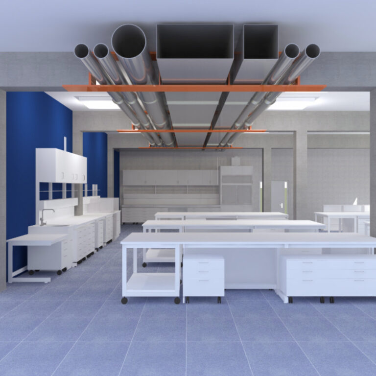 laboratory with beamUp